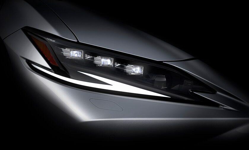 Lexus ES 7 поколения рестайлинг