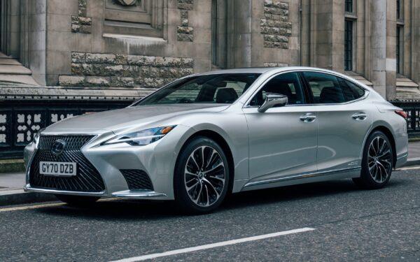 Lexus LS 5 поколения рестайлинг