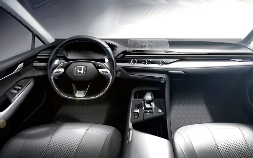 Новый интерьер Honda