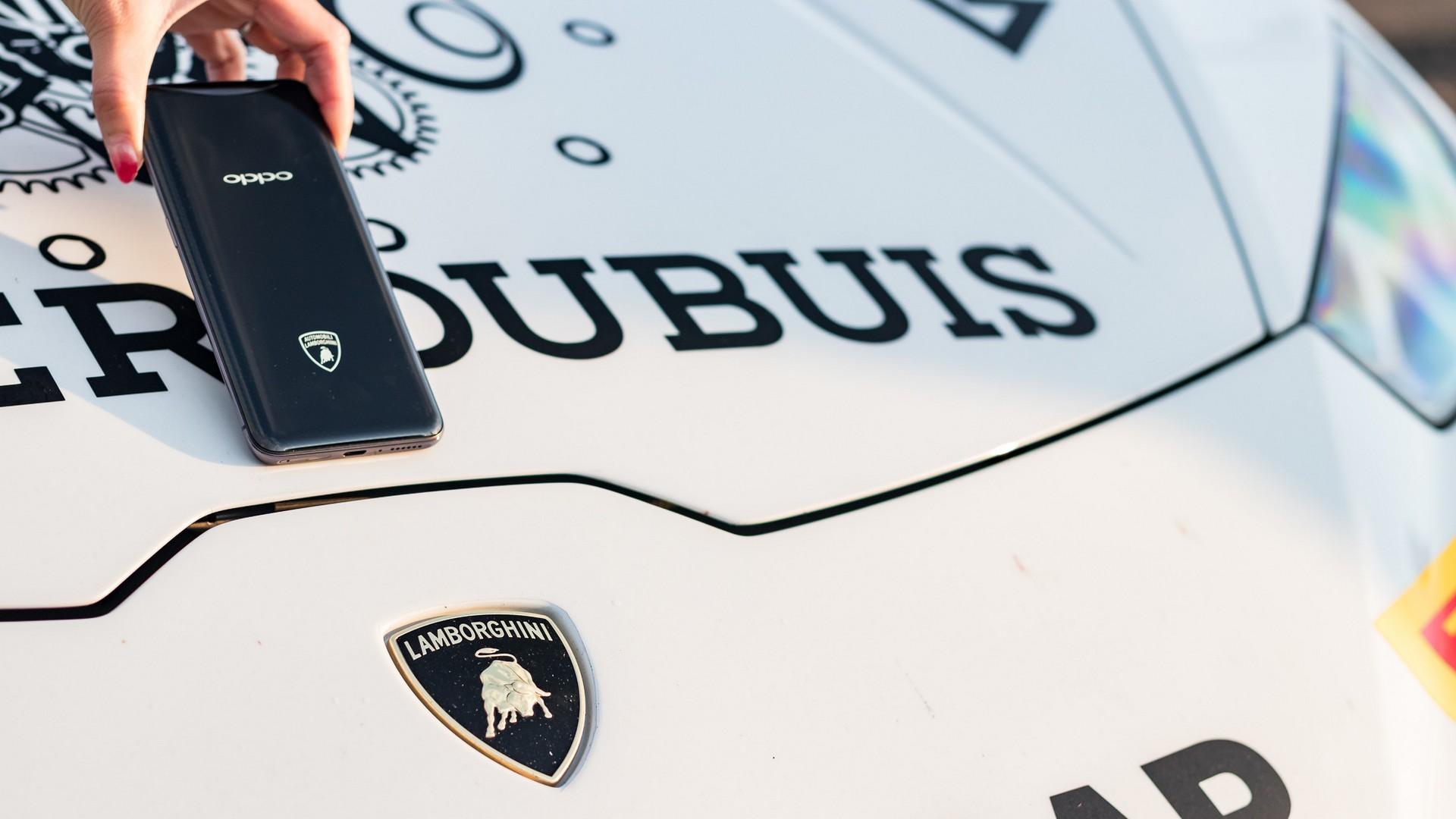 OPPO и Lamborghini