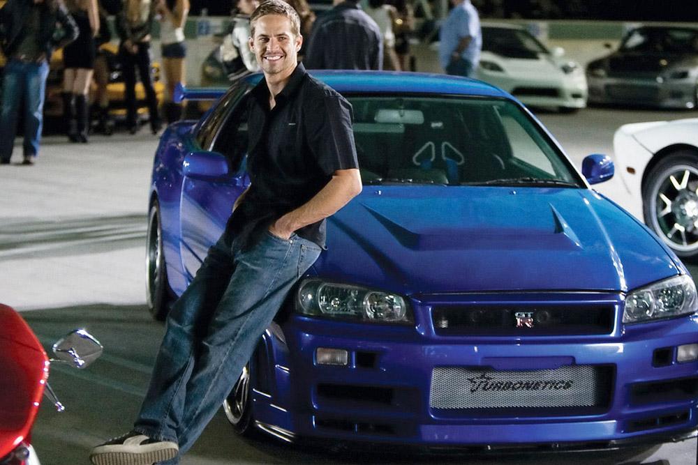 Пол Уокер и Nissan Skyline GT-R