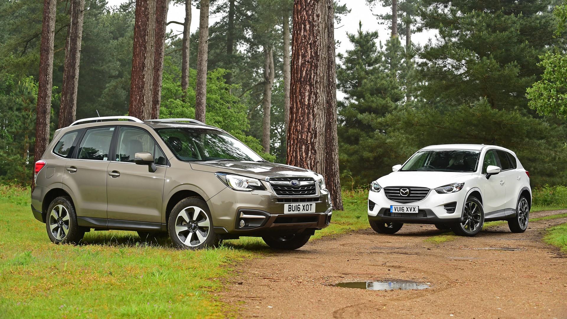 Mazda и Subaru