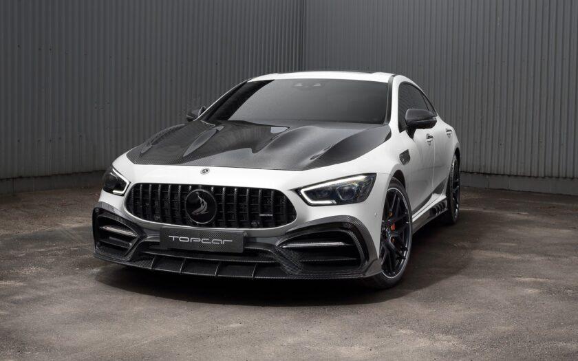 Mercedes-Benz AMG GT 4.0 AT 63 S 4MATIC+ с карбоном от TopCar
