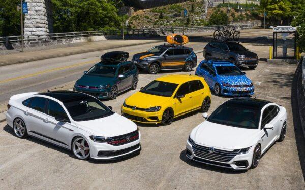 Модельный ряд Volkswagen