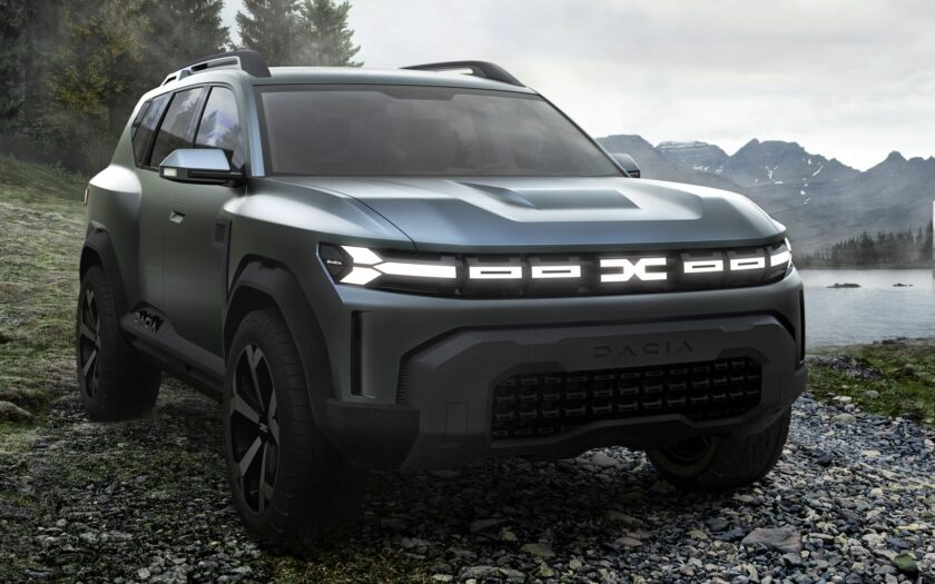 Концепт Dacia Bigster