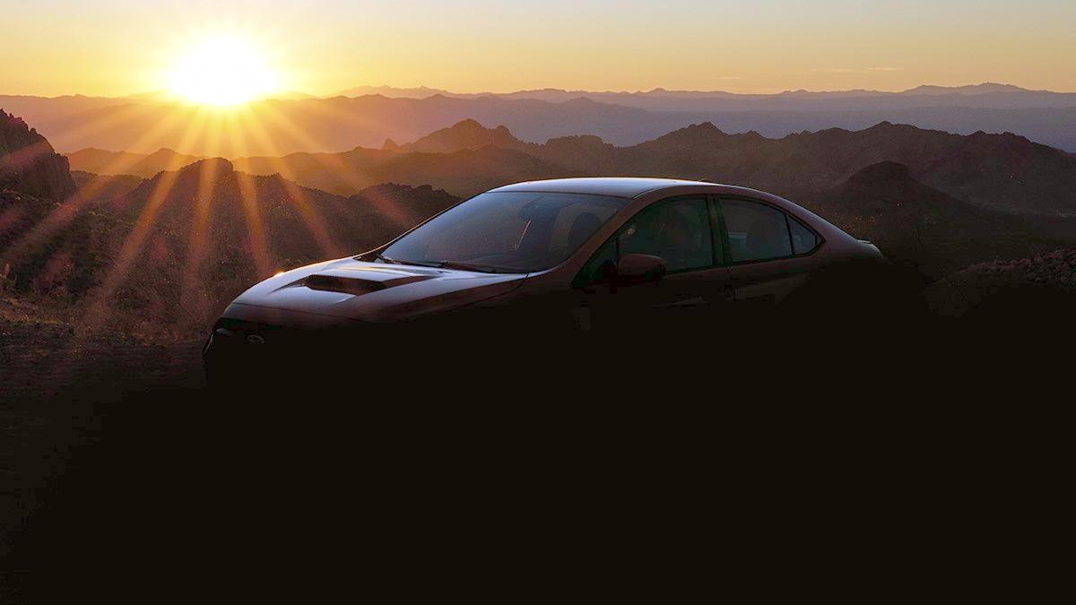Тизер Subaru WRX 4 поколения