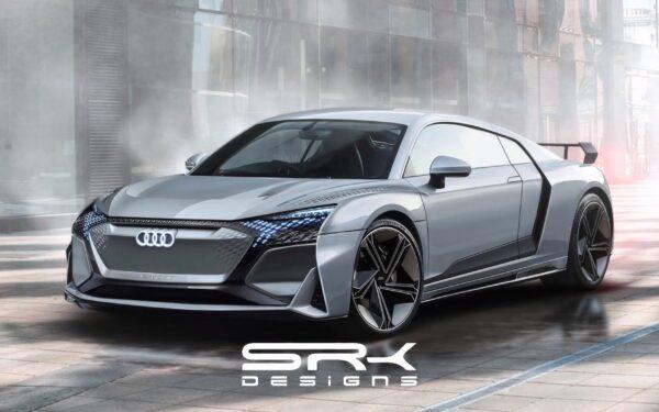 new Audi R8 e-tron