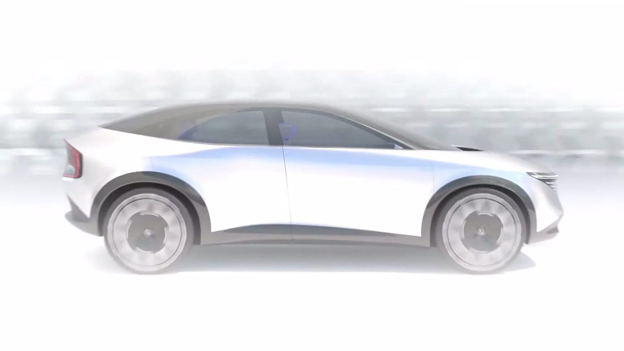 электрический кроссовер Nissan