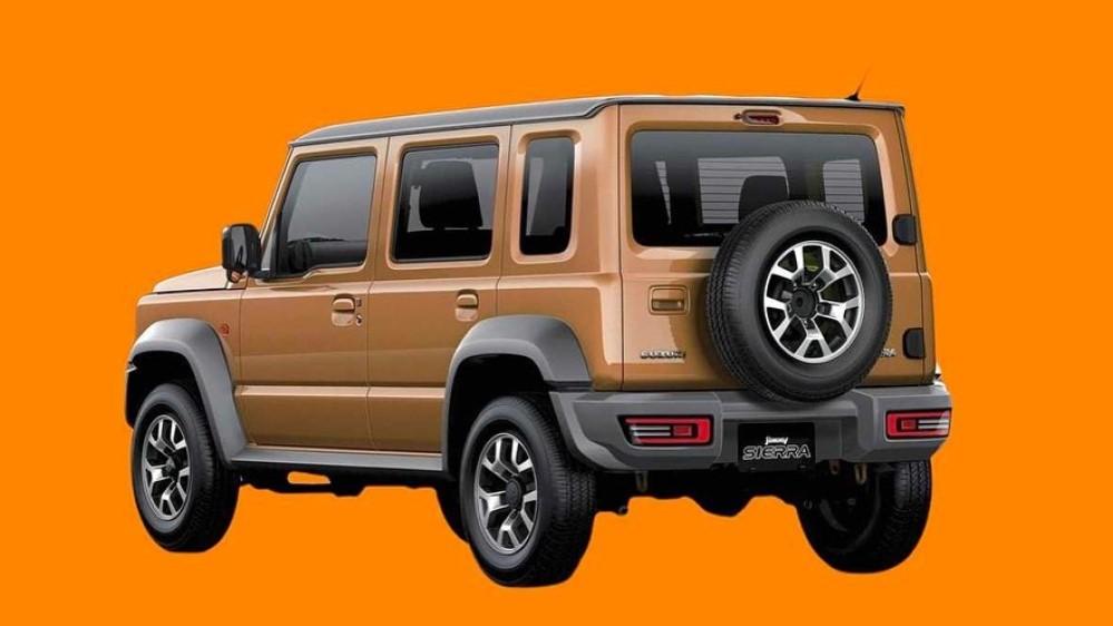 пятидверный Suzuki Jimny