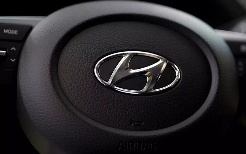 рулевое колесо от Hyundai