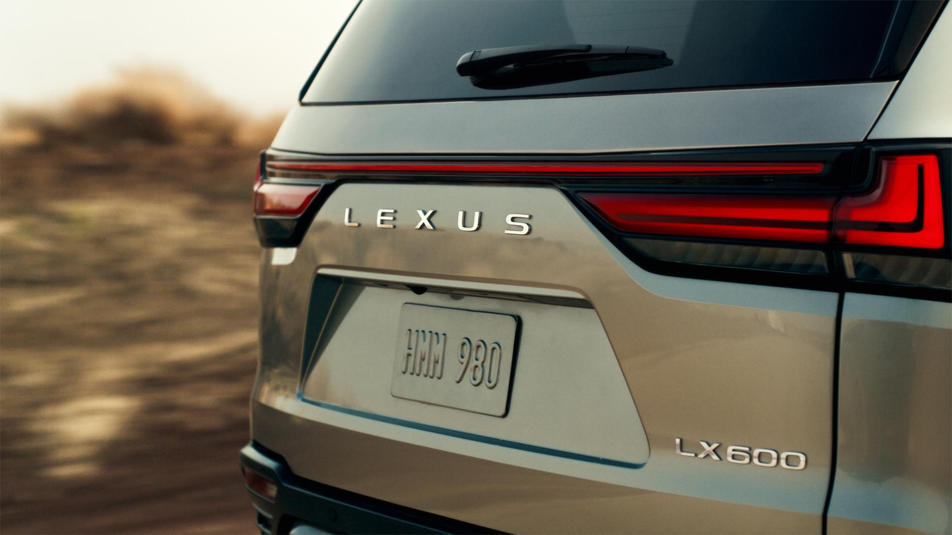 Тизер Lexus LX четвертого поколения
