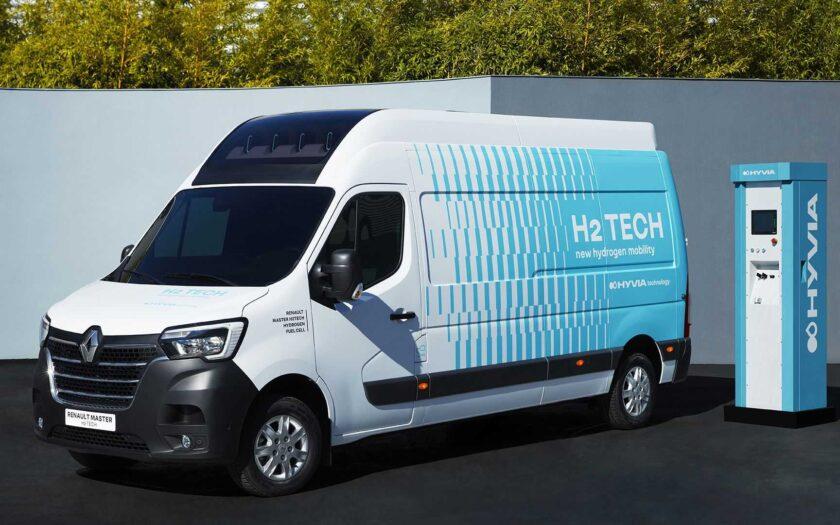 Renault Master Van H2-TECH 4